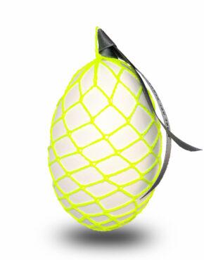 Neon Osterei – Gelb Gittermuster