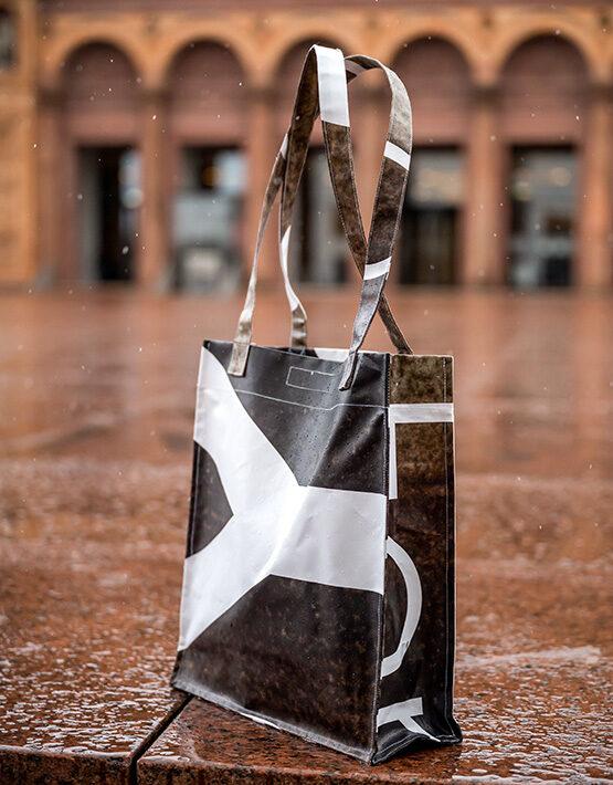 Upcycling-Tasche Goya Ausstellung